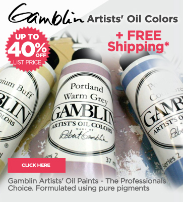 Gamblin Artists Oil Paints 40% off List
