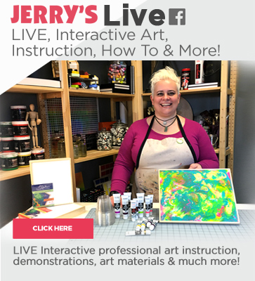 Live Art Instruction from Jerry's LIVE