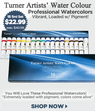 Professional Watercolor Paint Sets from Turner