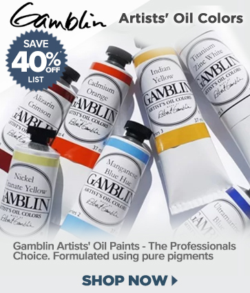 Gamblin Artists' Oil Paint And Mediums 40% off
