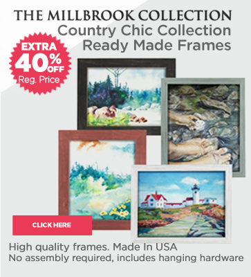 Country Chic Ready Made Frames On Sale