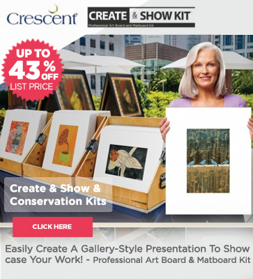 Crescent Create And Show Professional Presentation Matboard Kits On Sale