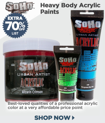 Soho Heavy Body Artist Acylic Paints