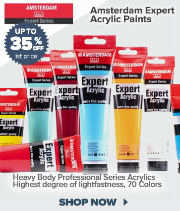 Amsterdam Expert Acrylic Paints 35% off, See details