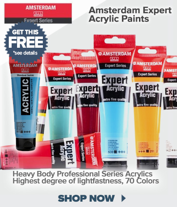 Amsterdam Expert Acrylic Paints plus Free Offer, See details