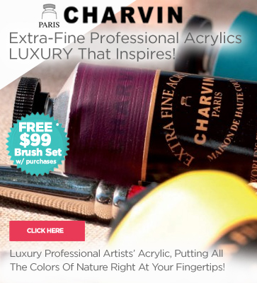 Charvin Extra Fine Artist Acrylic Paints
