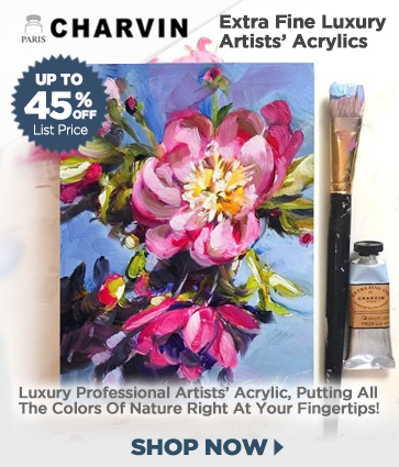 Charvin Professional Acrylic Paints