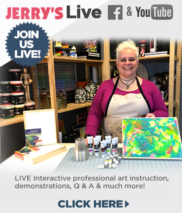 Jerry's LIVE Art Instruction