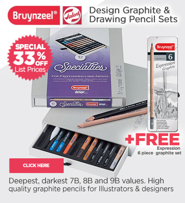 Bruynzeel Graphite Pencils + FREE OFFER