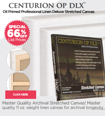 Centurion OP DLX Linen Professional Stretched Canvas
