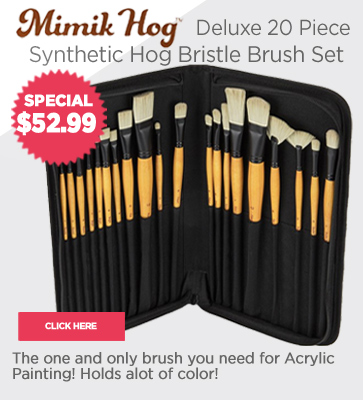 Mimik Hog Acrylic Brush Sets