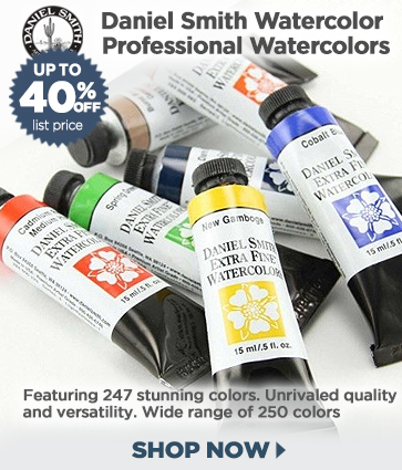 Daniel Smith Professional Watercolor Paints and Sets 45% off