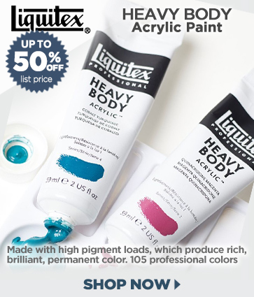 Liquitex Heavy Body Professional Acylic Paints