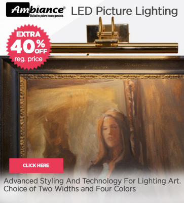 Ambiance LED Picture Lights 40% OFF Sale
