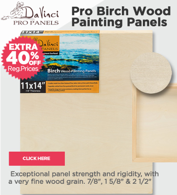 Da Vinci Pro Birch Panels 40% OFF