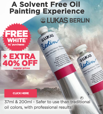 Lukas 1862 Oil Paints + Free Shite Paint Extra 20% OFF