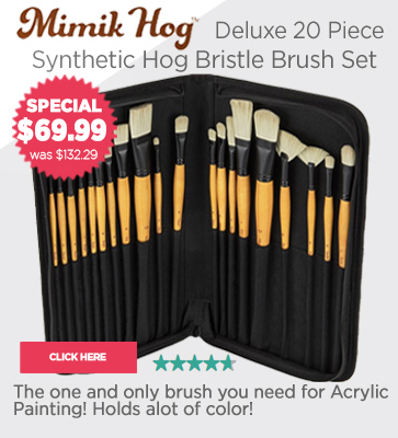 Mimik Hog Brush Sets