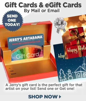 Artist Gift Card Gifts