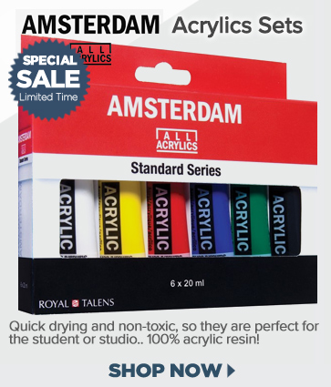 Amsterdam Acrylic Paint Sets On Sale