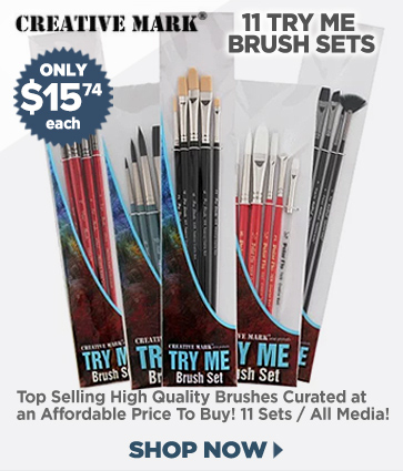 Professional Artist Brushes and Sets