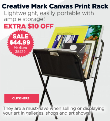 Folding Canvas Print Rack Sale