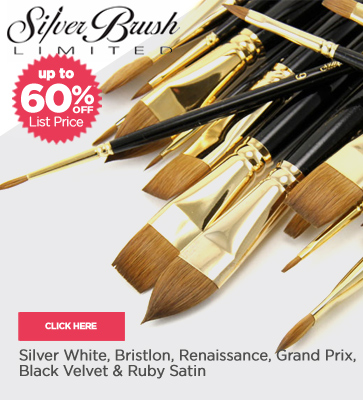 Siver Brush rushes Up To 60% off