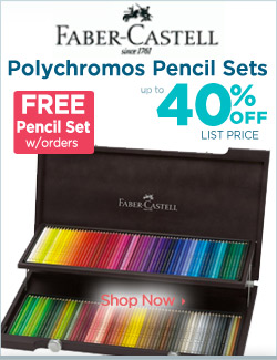 Faber-Castell Polychromos Pencil Sets with Free Gift