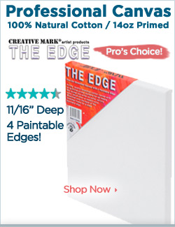 Professional Cotton Stretched Canvas - The Edge