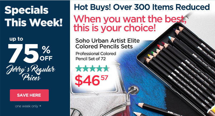 Hot Buys- Professional Colored Pencil Sets