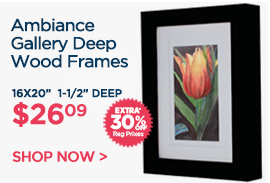 Ambiance Gallery Deep Wood Frames Extra 30% OFF