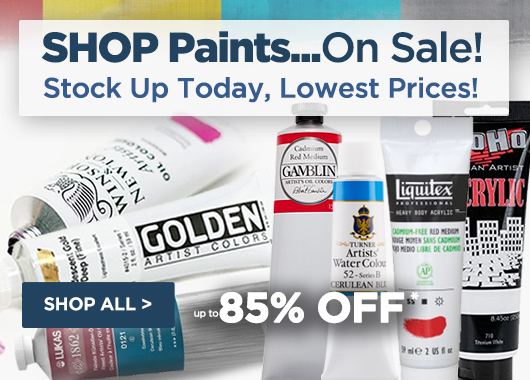 Artist Paints On Sale. Shop Top brands for fine art paints