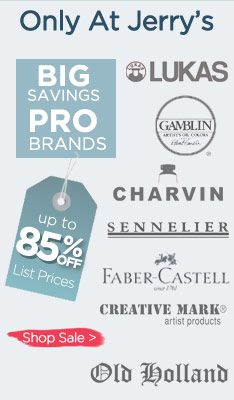 Professional Art Supplies on Sale  - All Best Art Brands