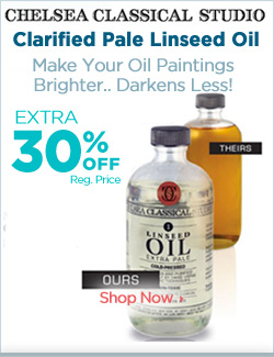 Clarified Pale Linseed Oil Spotlight Feature