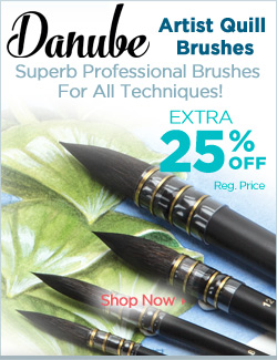 Danube Artist Quill Brushes Spotlight Feature