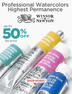 Winsor and Newton Professional Watercolors on Sale 50% OFF
