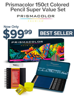 Prismacolor colored pencil sets on sale at Jerry's