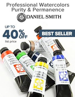 DANIEL SMITH Watercolors, Mediums & Sticks on Sale 40% OFF