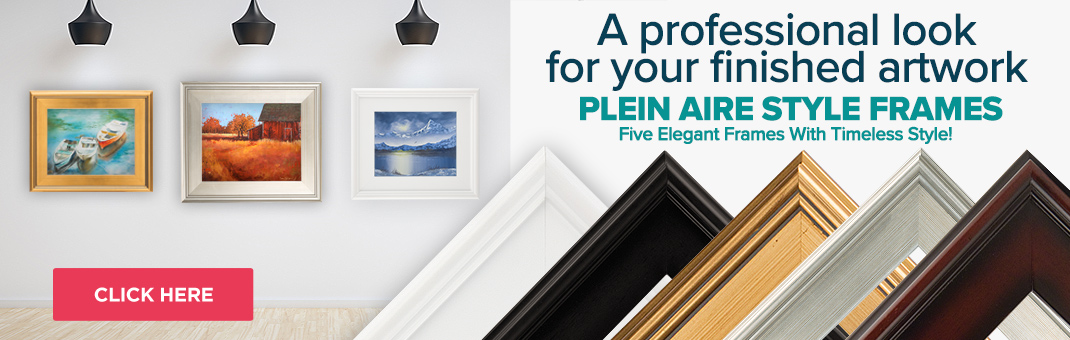 Plein Aire Style Frames, Frames For Your Artwork on Sale