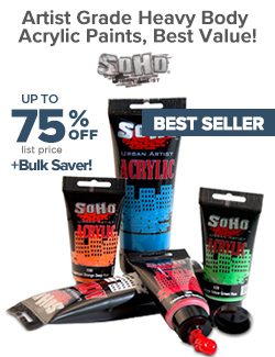 Soho Heavy Body Artist Acrylics On Sale up to 75% OFF