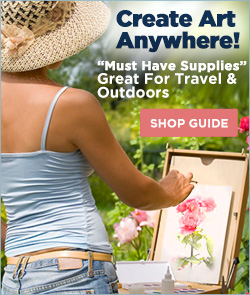 Create Art Anywhere - Travel and Outdoor Art Supplies