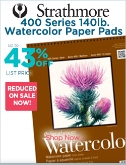 Strathmore Watercolor Pads Watercolors 43% OFF Sale