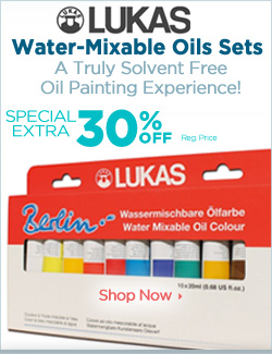 Lukas Berlin Water Mxiable Oils Sets On Sale