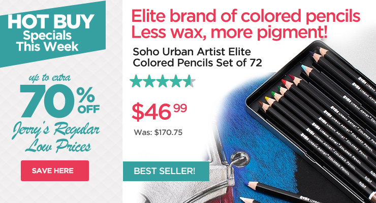 Hot Buys - Professional Coloed Pencil Set of 72