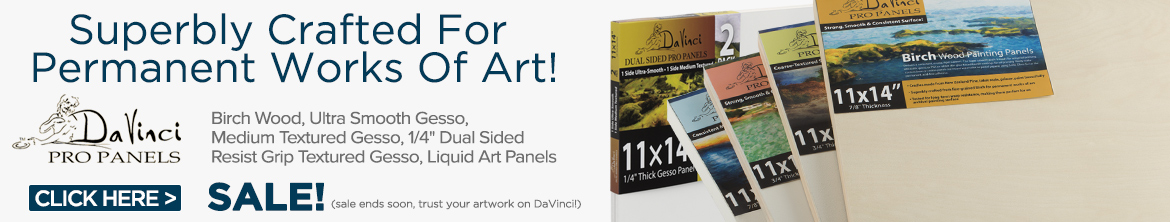 Professional Art Panels For All Media - DaVinci Pro Art Panels
