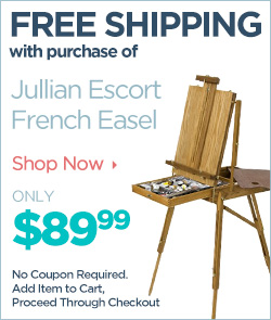 Free* Shipping with Jullian Escort French Easel