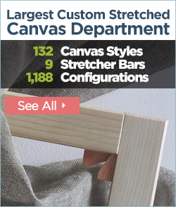 Largest Custom Stretched Canvas Department