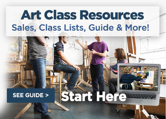 Fall Art Class Resources adn Guide For Artists and Art Teachers