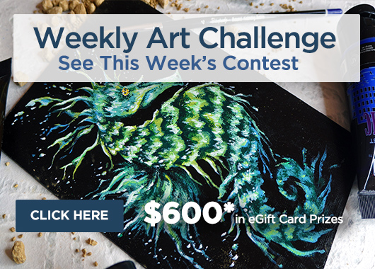 Weekly Art Challenge, Enter The Art Contest Today!