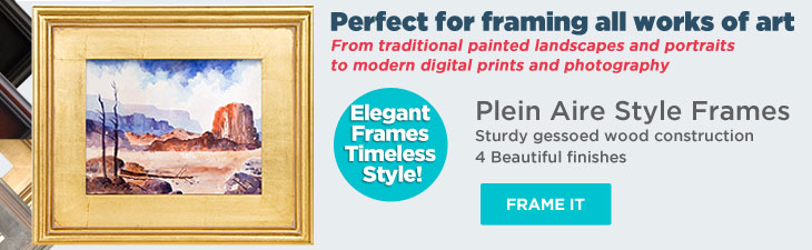 Plein Aire Frames - Frame your artwork in style