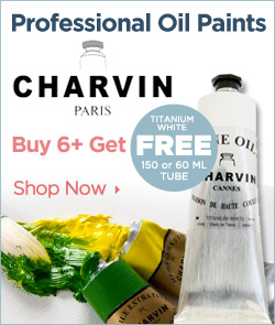 Charvin Professional Oil Paints - Free Titanium White